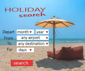 All inclusive holiday search